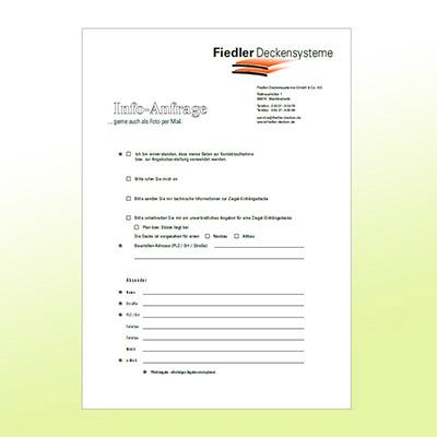 Abbildung Formblatt Fiedler Info-Anfrage